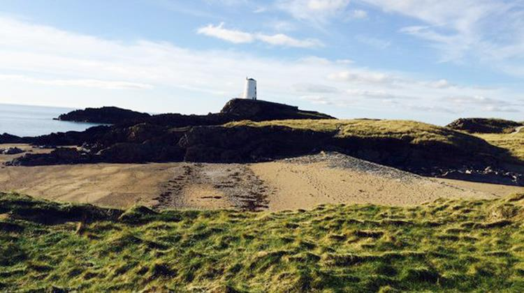 Walking in Llanddwyn
